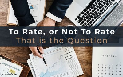 To Rate, Or Not To Rate, That Is The Question