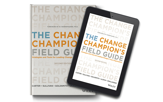 THE CHANGE CHAMPION'S FIELD GUIDE 1