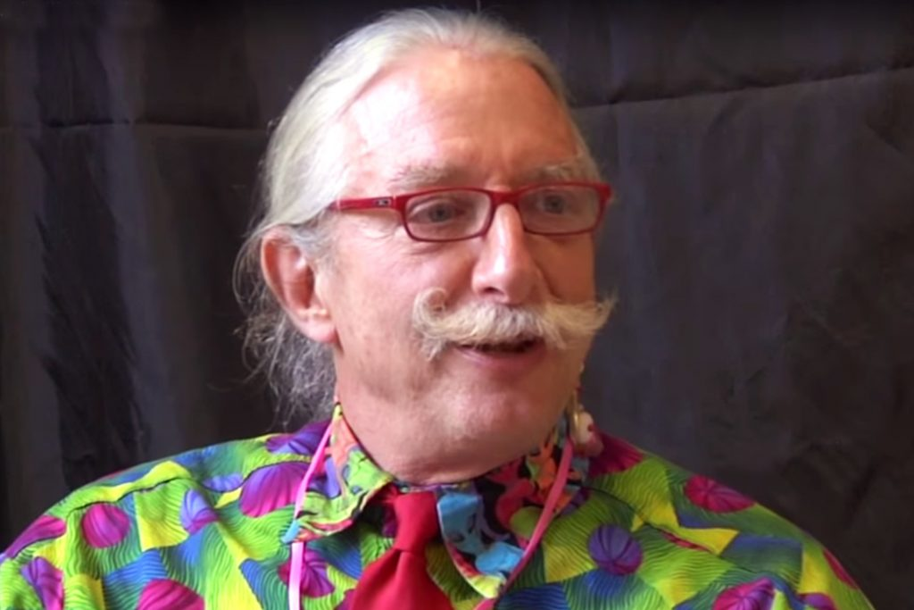 Louis Carter Speaks with Hunter Patch Adams 1