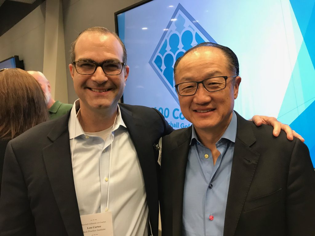 Dr. Jim Kim and Louis Carter 1