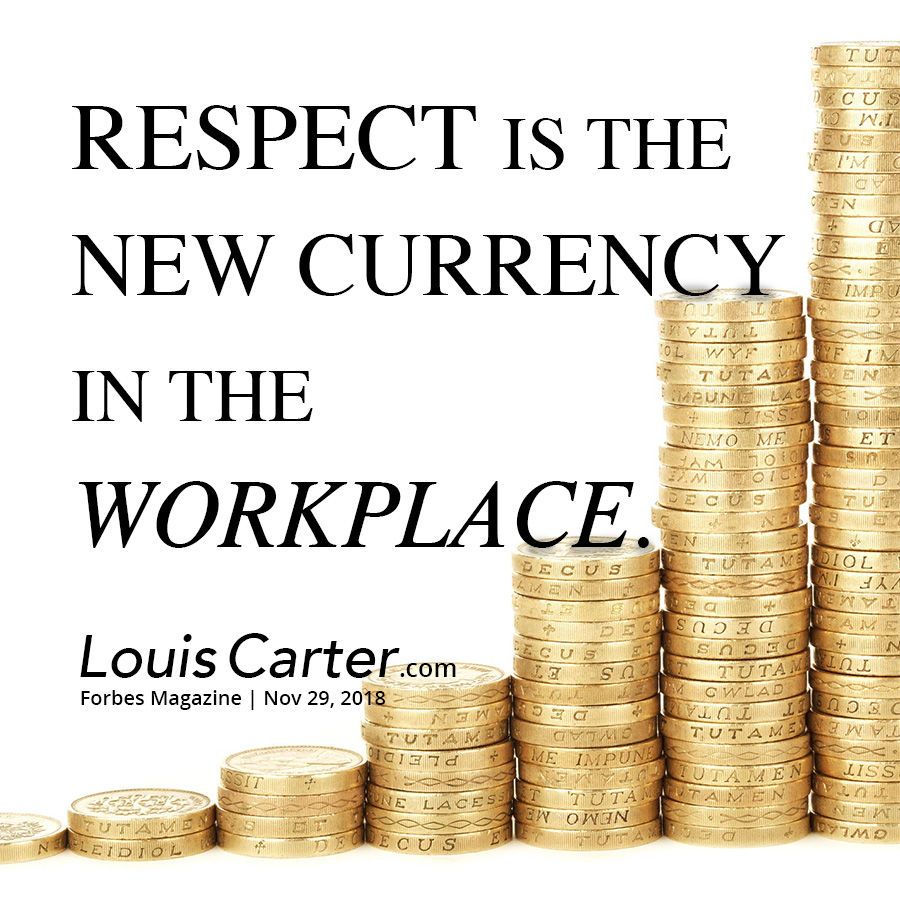 Respect is the New Currency in the Workplace