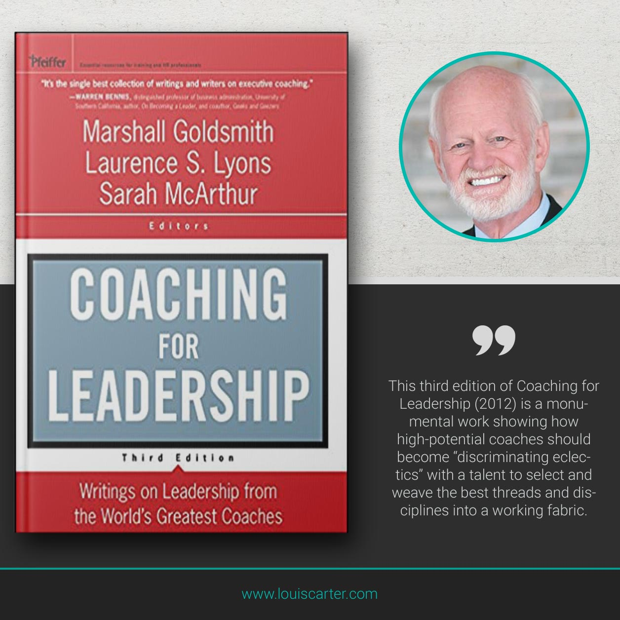 Picture of Coaching for Leadership book by Michael Goldsmith, Laurence S Lyons and Sarah McArthur.