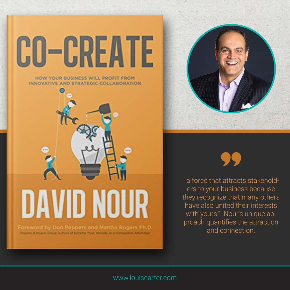 Image of Co-Create best Leadership books by David Nour.