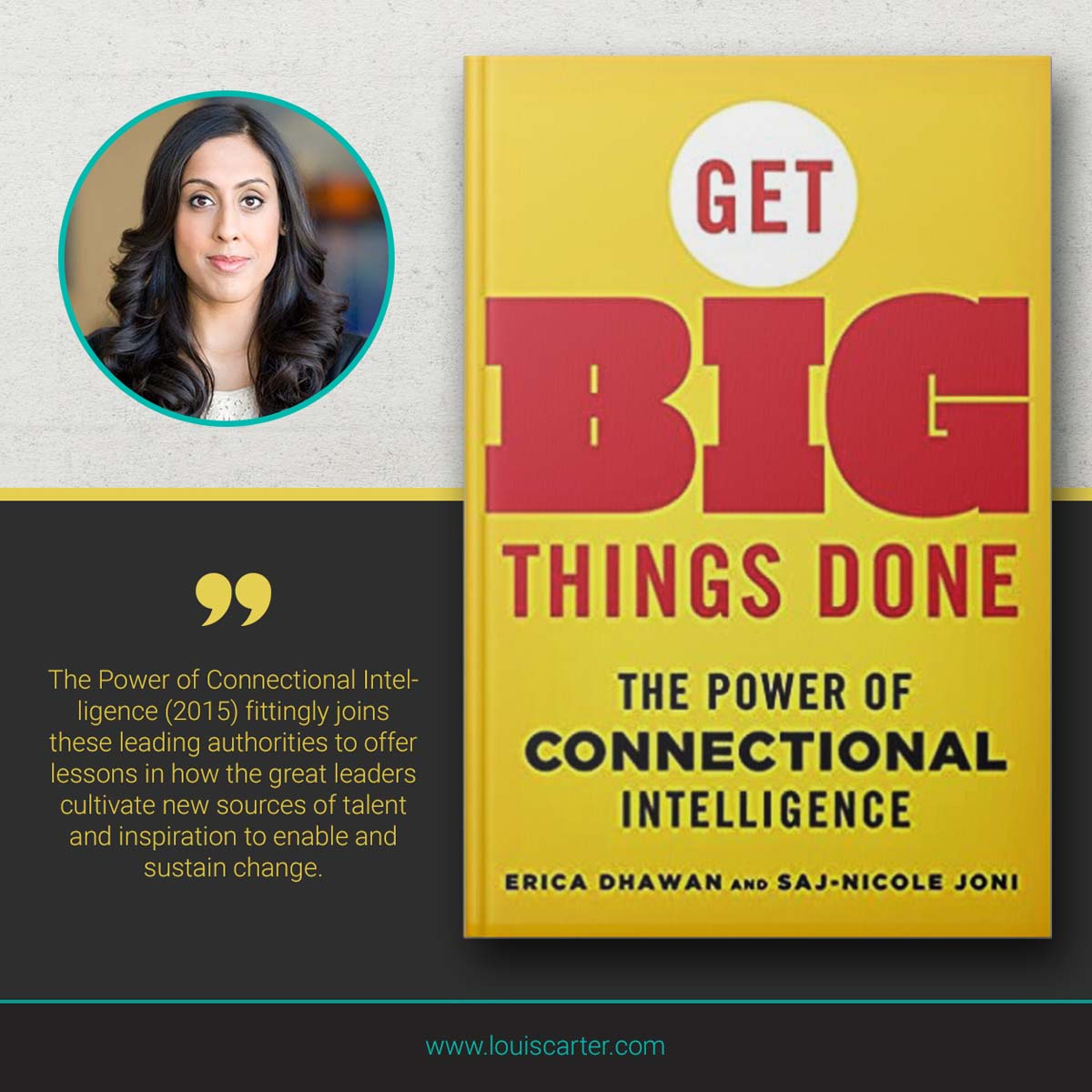 Image of Get Big Things Done by Erica Dhawan and Saj-Nicole A Jon Leadership book