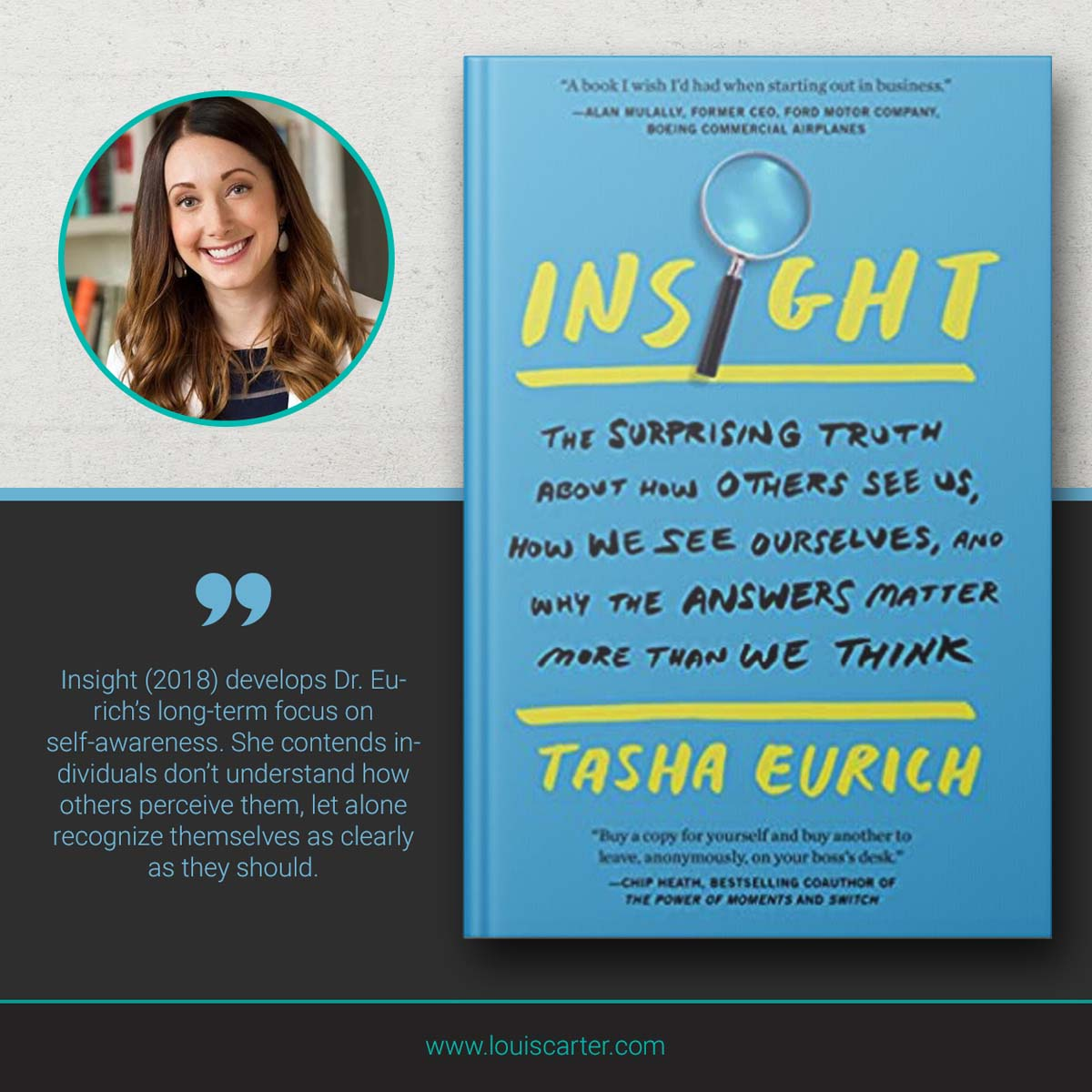 Image of Insight Leadership book by Tasha Eurich.