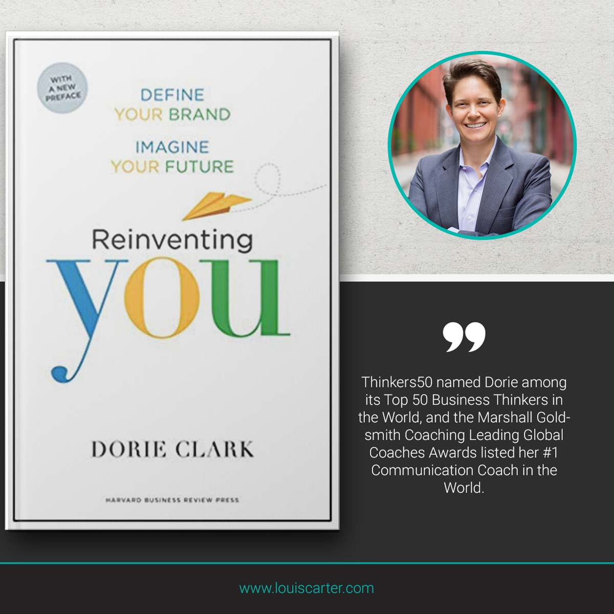 Image of Reinventing You by Dirue Clark Leadership book
