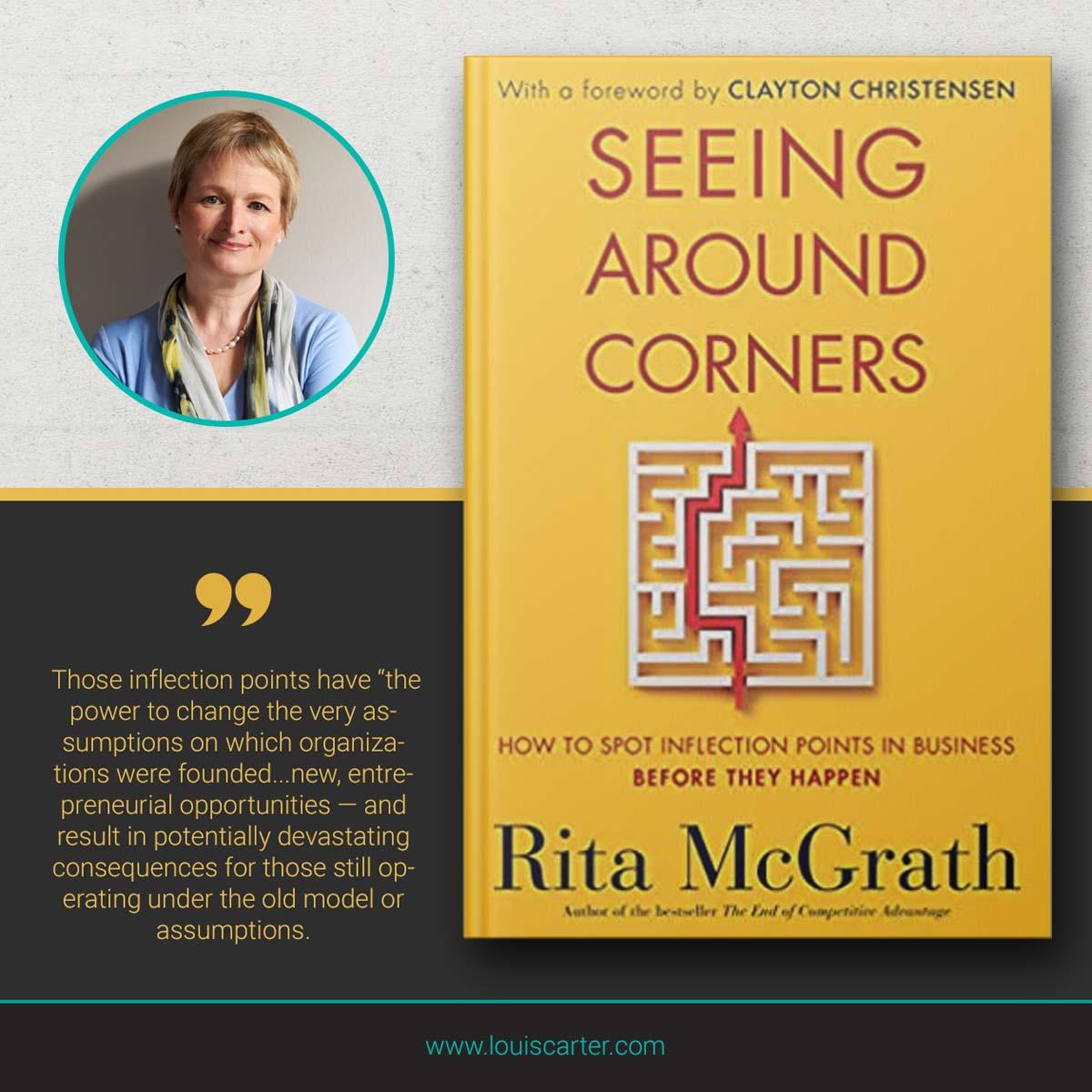 Image of Seeing Around Corners best leadership books by Rita McGrath.