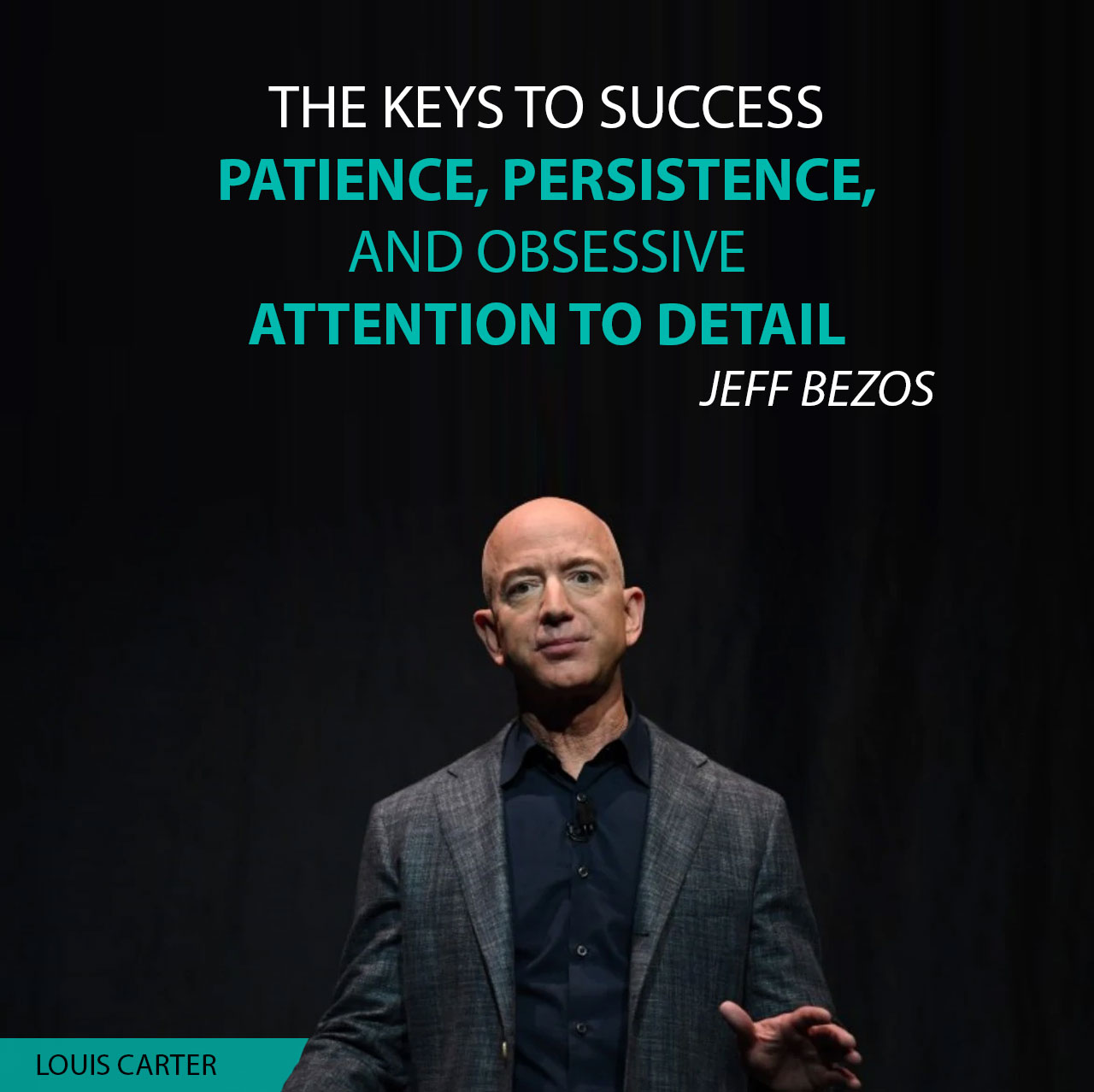 The keys to success are patience, persistence, and obsessive attention to detail