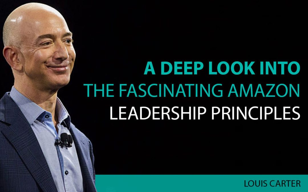 Amazon Leadership Principles image.