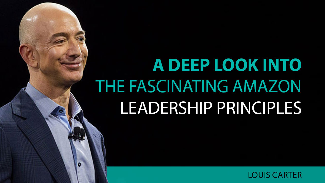 Amazon Leadership Principles image.