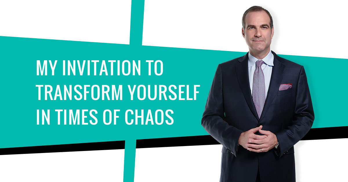 My Invitation to Transform Yourself in Times of Chaos – Transformational Leadership