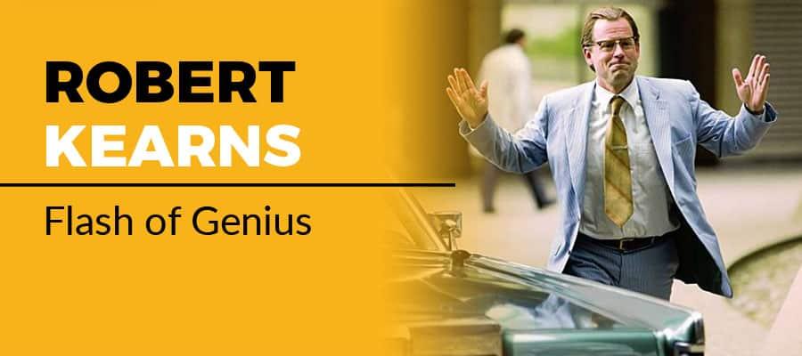 Robert Kearns, inventor of the windshield wiper. Flash of Genius (2008)